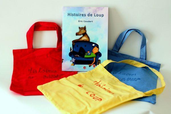 Sacs Histoires de loup. Editions LC.